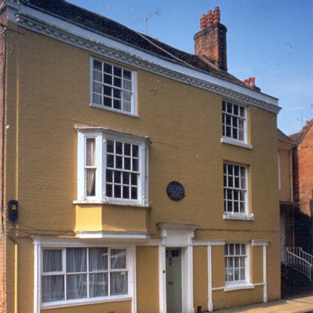 Jane Austen lived her last days in this house, died 18 July 1817