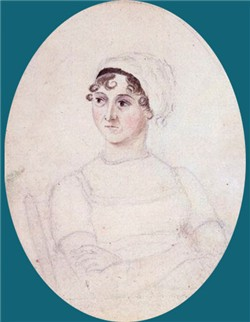 Jane's portrait sketched by her sister
