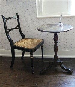 Jane Austen's writing table at Chawton